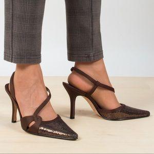 Vintage Sequin Stilettos